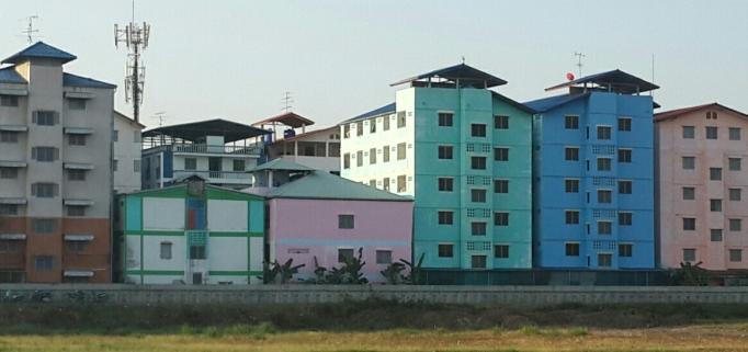 Pastel buildings2